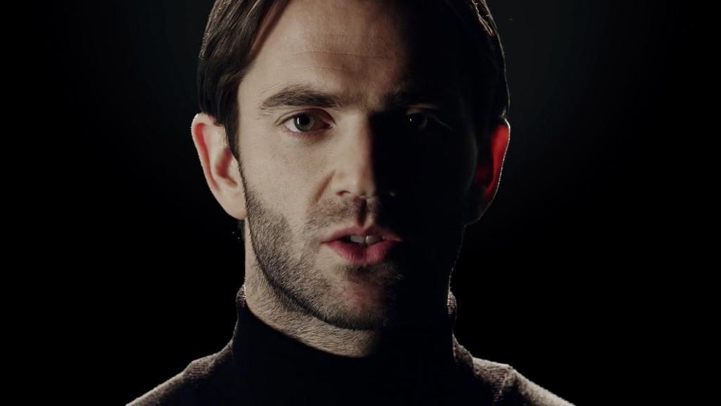 Schauspieler Benjamin Fisher in der Filmproduktion der just GmbH für die Siemens AG zum Thema Internet der Dinge.