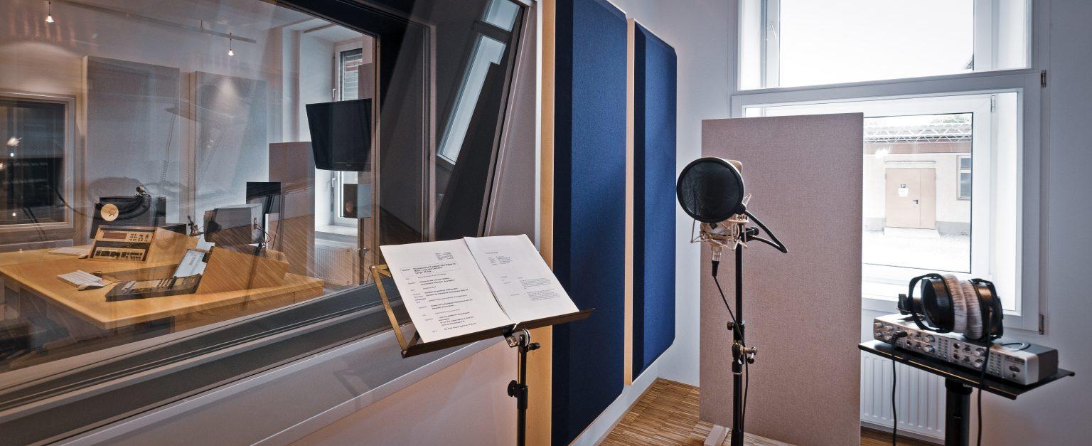 Tonstudio der just GmbH audiovisuelle produktionen, Zielstattstraße 19, 81379 München, Aufnahme 2