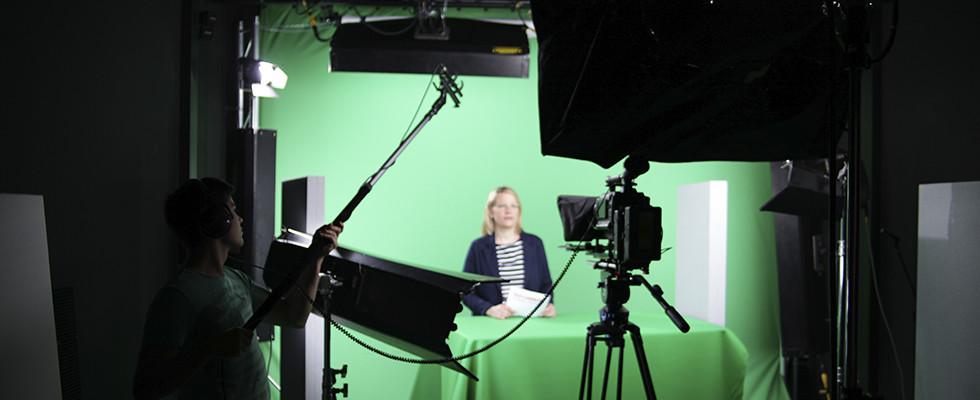 Filmstudio, Greenscreen Studio der just GmbH audiovisuelle produktionen, Zielstattstraße 19, 81379 München