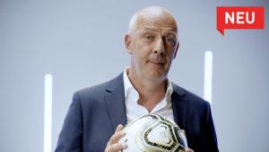 Mario Basler bei der Social Media Spot Produktion der just GmbH für die Basler Versicherungen